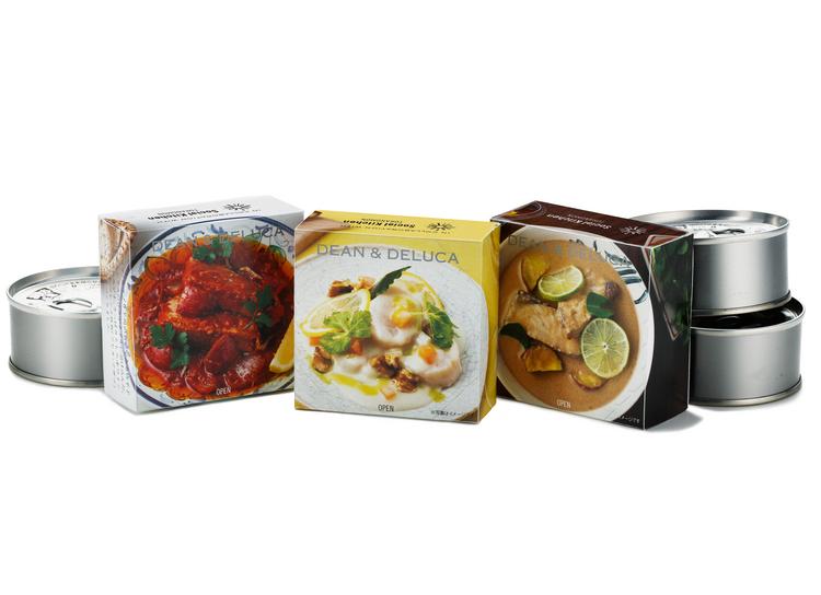 「DEAN & DELUCA」にプロの料理人考案の缶詰登場。コロナ禍の水産業事業者をレスキュー!の画像