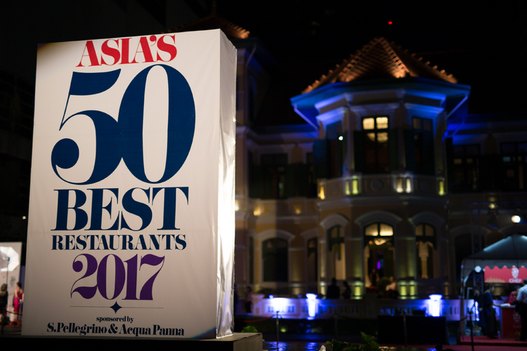 Asia's 50 Best Restaurants 2017, sponsored by S.Pellegrino & Acqua Panna.